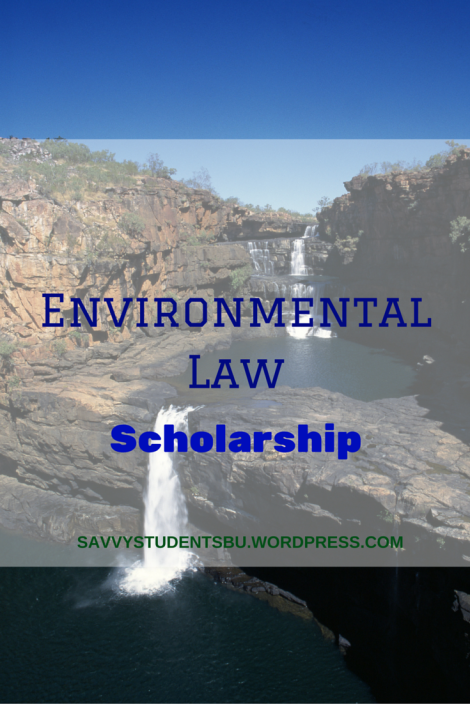 Environmental Law Scholarship