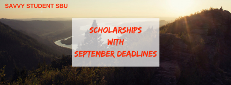 Scholarships with September Deadlines_2016.1